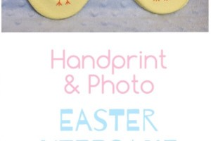 Handprint & Photo Easter Keepsake