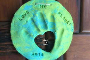 Earth Day Handprint & Photo Keepsake