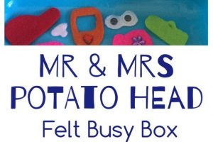 Potato Head Felt Busy Box